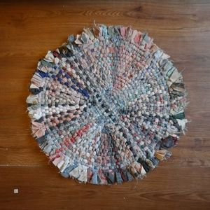Other - Circular woven clothed rug